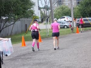 Sisters taking on 21.1km