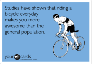 biking makes you more awesome