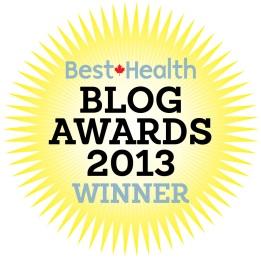 Blog Awards Logo Winner